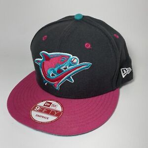 New Era Clearwater Threshers Minor League Baseball Pink Rare Sold Out Hat NWOT