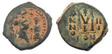 Byzantine Heraclius Follis overstruck at Phocas Follis