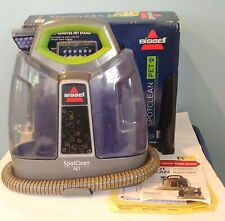 Bissell SpotClean Pet Carpet Upholstery Cleaner Heatwave Technology Model 5207W