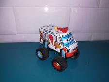 15.9.20.7 Cars Toons I Screamer plastique camion glace Disney pixar