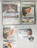 Fight Night Round 3 Xbox 360 TESTED DISC CIB COMPLETE FAST TRACKED SAFE SHIPPING