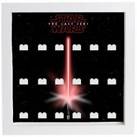 Lego Minifigure Display Case Frame Star Wars The Last Jedi Series Minifigs