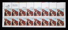 1975 US Scott 1564 10¢ plate block 16 stamps Battle of Bunker Hill MNH VF OG