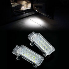 2x LED CAN-bus Porte Courtoisie Lampe Lumière Pour Audi A3 A4 A5 A6 A7 Q5 Q7 TT