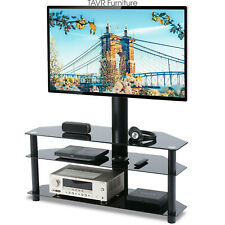 Swivel Floor TV Stand with Mount for most 32 to 65 inch LCD LED TVs