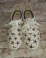 Women's 9.5 Keds Kate Spayd Lt. Pink Starfish Sneakers