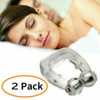 Silicone Stopper Snore Silent Sleep Magnetic Device Anti Snoring Nose Clips Aids