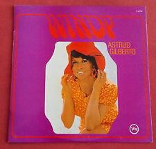 ASTRUD GILBERTO  LP ORIG FR  60'S  WINDY