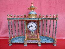 nobile ,altissima qualità orologio da camino__Cloisonné__52cm x 58cm __