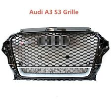 SD-CFAAS-2071 Grille For Audi A3 S3 Sedan 2013-2016 to have RS3 look