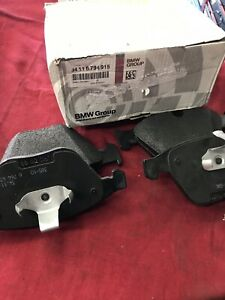 34-11-6-794-915 New In Box OEM E60 E61 E65 E66 BMW Front Brake Pads
