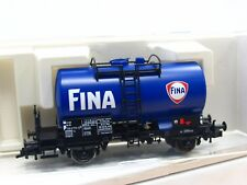 Fleischmann H0 4645 K Kesselwagen Fina NS VP (TR9007)