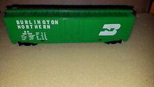 Burlington Freight Car, Bn 100024, Gloss Green, Ho Scale