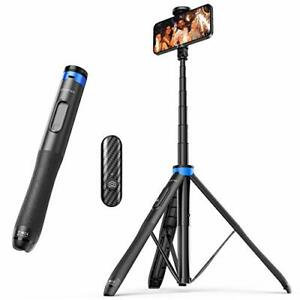"ATUMTEK 51"" Selfie Stick Tripod All in One Extendable Phone Tripod Stand with..."