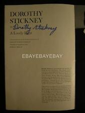 Dorothy Stickney Cyril Ritchard Festival Of Performing Arts Signed Playbill 391W