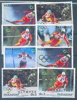 PARAGUAY OLYMPIC Mi#4175/9 + 4193/5 - 2 Complete Set MNH
