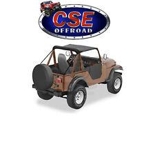 52505-01 Bestop Black Bikini Top Jeep CJ5 M38A1