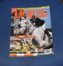 HORSE ILLUSTRATED JUNE 1996 - SHOW TO WIN!