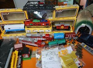 Vintage Life-Like Train Mixed lot,  Bridge,Transformer, Track, Trains, Remote