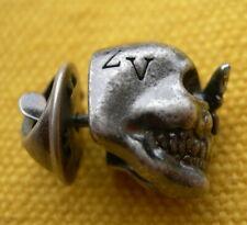 Zadig & Voltaire Pin's Tête De Mort avec papillon Skull pin