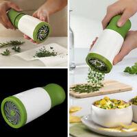 Herb Grinder Spice grinder grinding garlic corianders Peeler Kitchen Gadget T DD