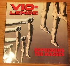 VIO-LENCE OPRESSING THE MASSES 1990 RARE  VINYL LP JEWEL Only 1 ON EBAY!!!🔥🔥
