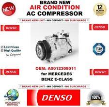 DENSO AIR CONDIZIONE AC NUOVO COMPRESSORE OEM: A0012308011 per MERCEDES BENZ E-Class