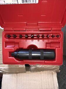 "stanley proto j7099a 13 piece 3/8"" drive hand impact driver set"