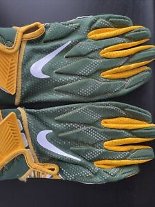 Nike NFL Superbad 4.5 XL Green Bay Packers Football Gloves