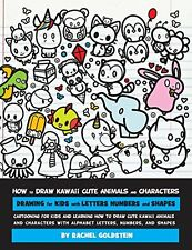 How to Draw Kawaii Cute Cartoon Animals Characters Drawing for Kids Volume 8