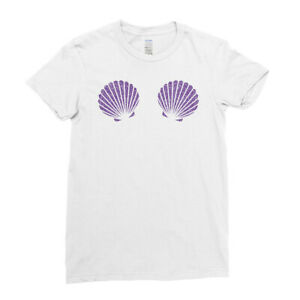 Ariel Seashell Nautical Princess Sea Angel Elsa Mermaid Womens Kids T-Shirt