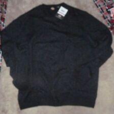 NEW DICKIES Crew Sweater Pepper - Black Men 2XB NEW NWT