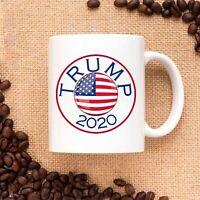 Trump 2020 USA Flag Ceramic Coffee Mug Tea Cup
