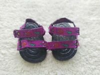 American Girl of Today Camping Outfit Sandals Purple Bugs RETIRED
