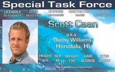 Hawaii Five-O Scott Caan DANNY WILLIAMS Honolulu HI I.D. ID card Drivers License