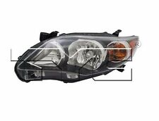 TYC NSF Left Side Halogen Headlight For Toyota Corolla S/XRS 2011-2013 Models