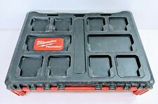 Milwaukee 48-22-8450 Packout Modular Case Tool Box with Inserts - Nice!