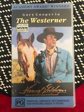 THE WESTERNER GARY COOPER WALTER BRENNAN RARE ORIGINAL AS NEW PAL VHS VIDEO