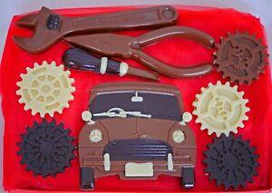 Hand-made Belgian Chocolate Car Mechanic Gift Box
