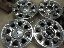 "4- 2012 Ford F250 Factory 20"" Alloy Wheels 05-17 F350 Super Duty OE 817A"