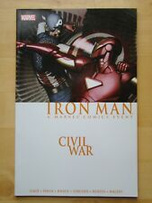 CIVIL WAR IRON MAN TPB (2007) (NM) 1ST PRINT, CAPTAIN AMERICA, BENDIS, KNAUF