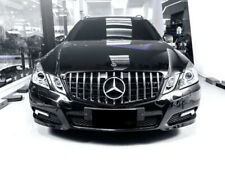 W212 E Class AMG Panamericana grille Black & Chrome MODELS UNTIL MARCH 2013
