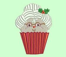 CHRISTMAS CUPCAKES  SET 2 -  20 MACHINE EMBROIDERY DESIGNS