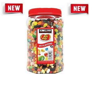 4 LB Original Jelly Belly Beans - 49 Flavors - Kirkland (64 oz.) FRESH