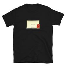 Arthur Fleck Forgive My Laughter Card Short-Sleeve Unisex T-Shirt Joker Movie