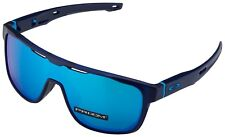 Oakley Crossrange Shield Sunglasses OO9387-0531 Translucent Blue| Prizm Sapphire