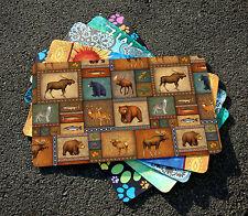 NEW Toland - Quilted Wilderness - Decorative Deer Elk Bear Door Standard Mat