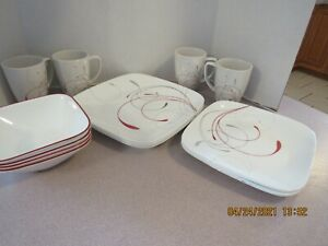 Corelle Studio Collection Splendor Dinnerware Set  16 pc