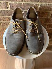 Banana Republic Owen Brown Suede Lace Up Oxford Dress Shoes  Mens Size 10 US