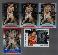 2019-20 Yao Ming Prizm and Optic Lot of (5) Basketball Cards Red White Blue
